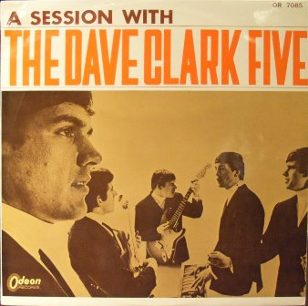 DAVE CLARK FIVE, THE - A Session With The Dave Clark Five(RED WAX) - LP