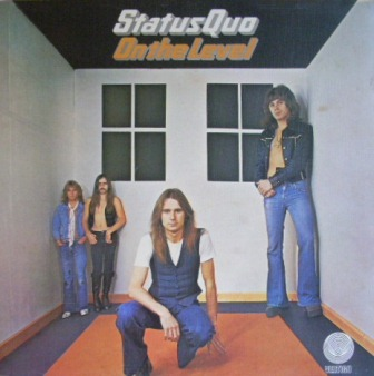 Status Quo On+The+Level LP