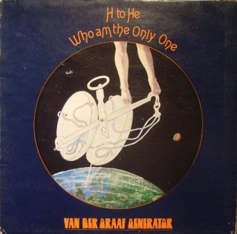 Van Der Graaf Generator H To He Who Am The Only One LP